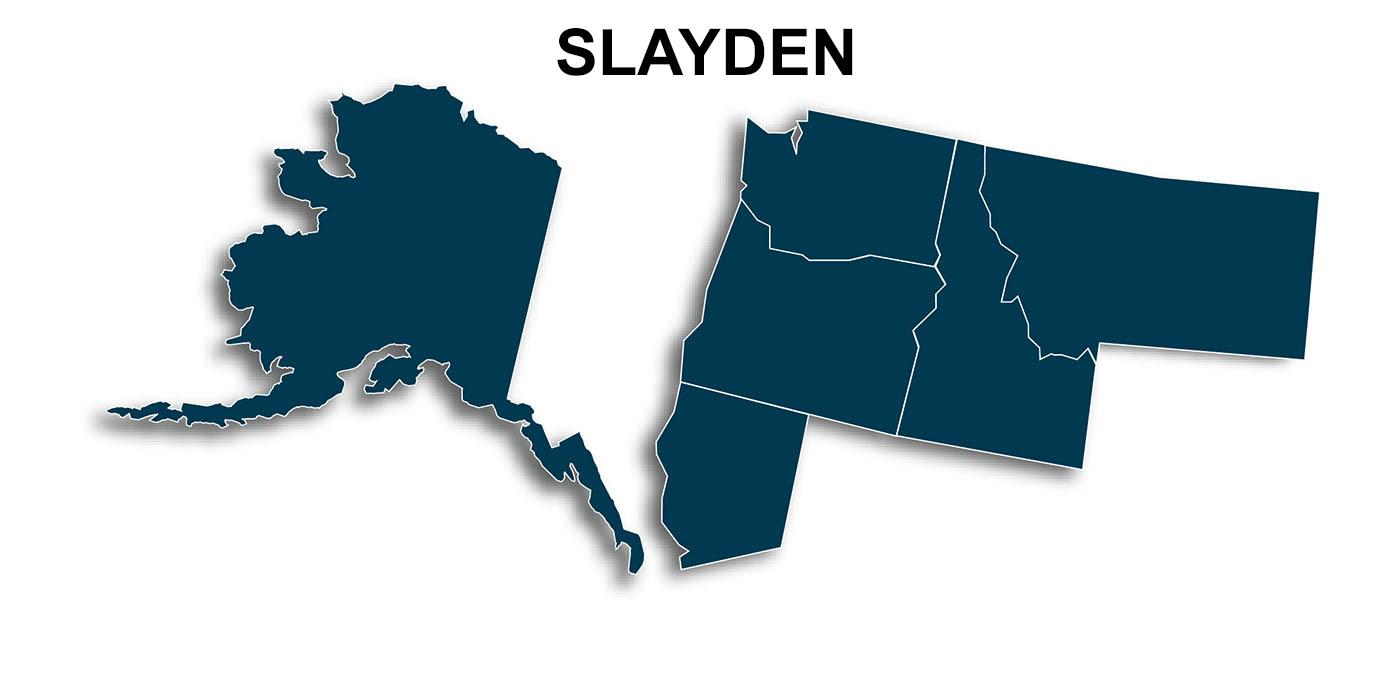 Slayden-Map